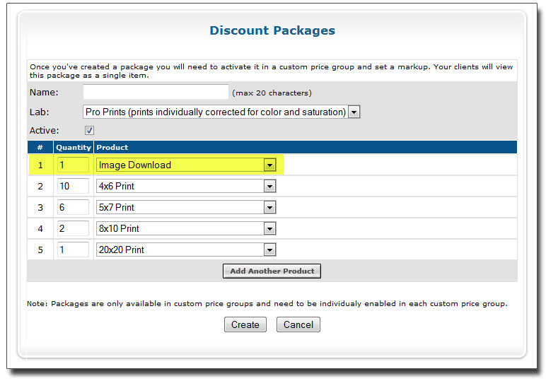 discountpackages 4 New Features!