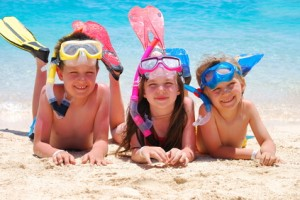 kids with snorkel gear 300x200 Stock Photography – Are you on the Buyer's Schedule?
