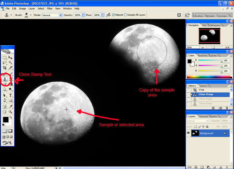 moon Three Photo Editing Tools You Need To Know
